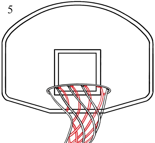 Draw a Basketball Hoop
