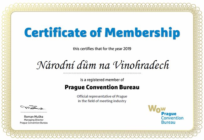 Certificate of Membership Sample