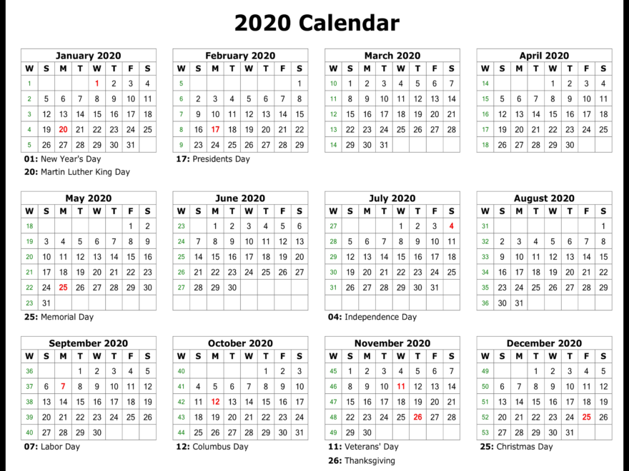 image relating to Printable Calendar With Holidays called Printable Calendar Templates - Portion 2