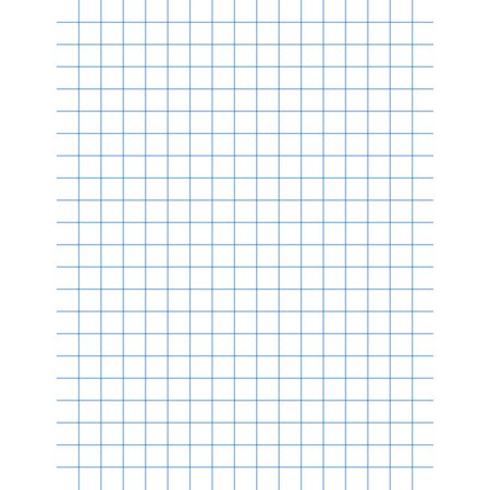 1/2 Inch Graph Paper